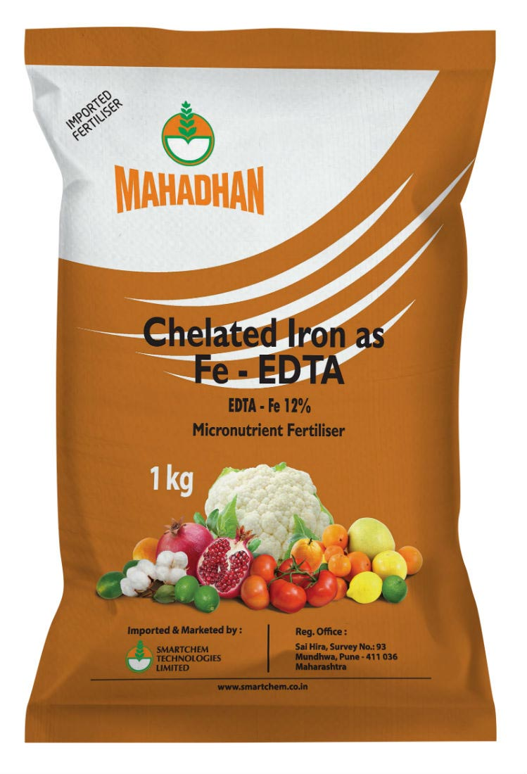 Chelated Fe 1 kg Pouch