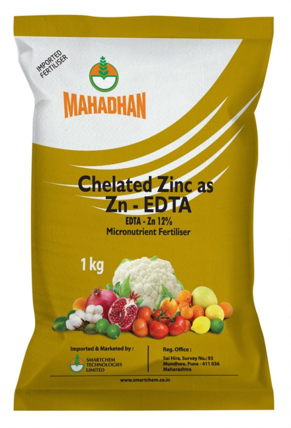 Chelated Zn 1kg Pouch