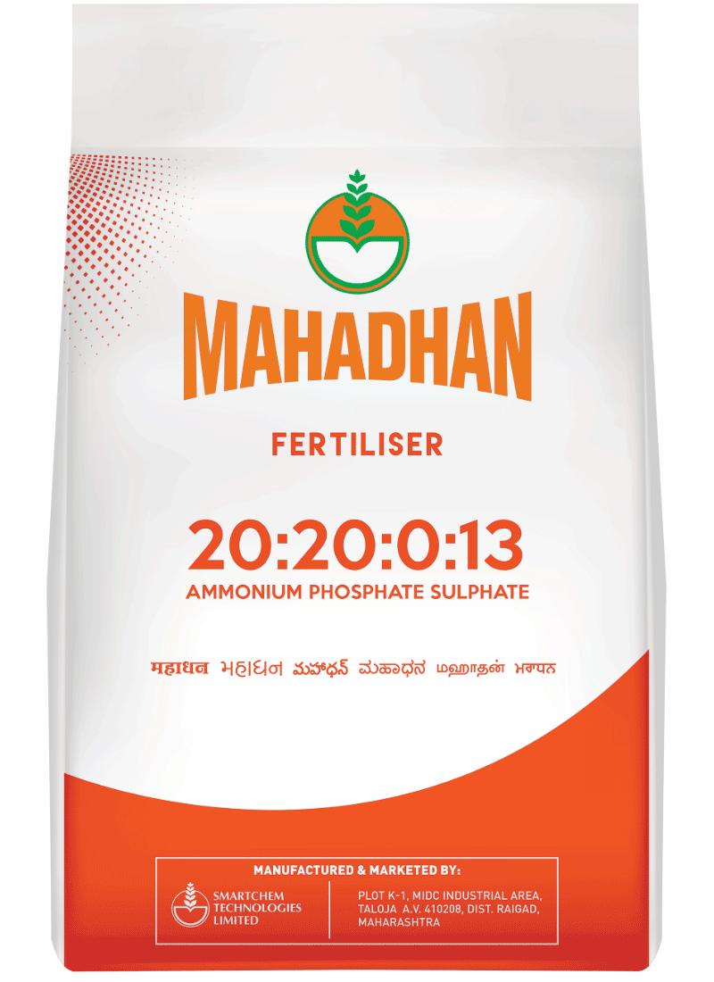 Mahadhan 20 20 0 13 Fertiliser Mahadhan