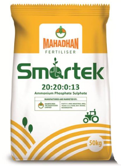 Mahadhan Smartek - 20:20:01:3 Fertilizer Bag