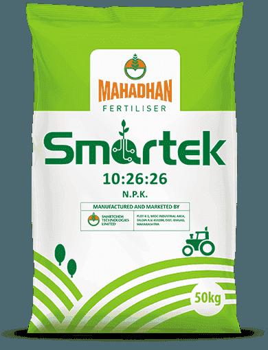 Smartek 10:26:26 NPK bag
